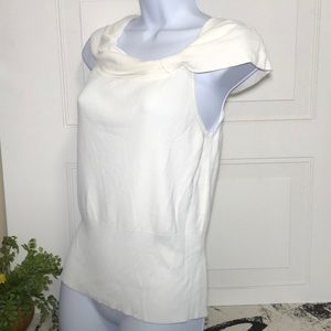 LOFT Tops - Ann Taylor LOFT Women's white sleeveless top